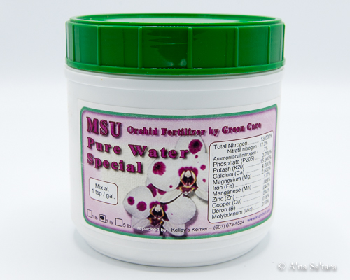 MSU orchid RO water granular